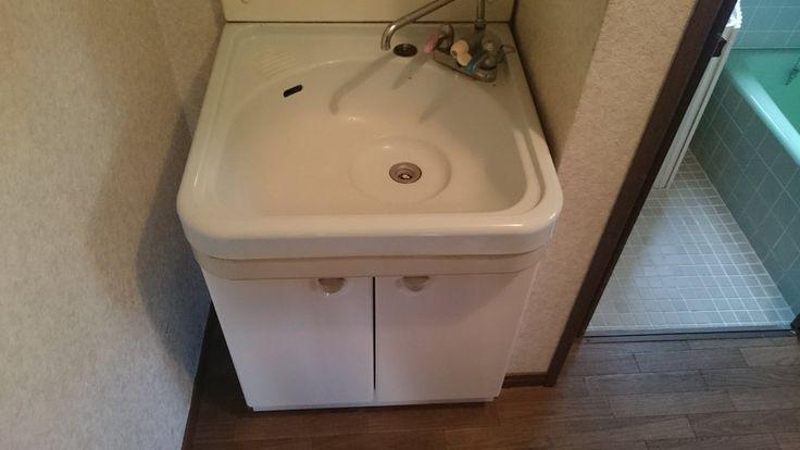 洗面台交換のdiy トクラスの洗面台 エポック へ交換してみました Nohmiso Com 洗面台 トクラス 洗面台diy