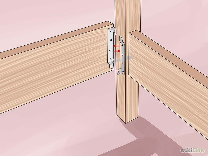 how to make a 4 post bedframe - Google Search