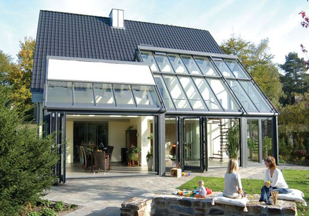 Countrywide glass conservatory room