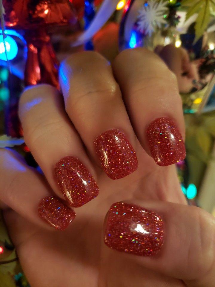 Christmas Nails Christmas Nails Dipped Nails Nails