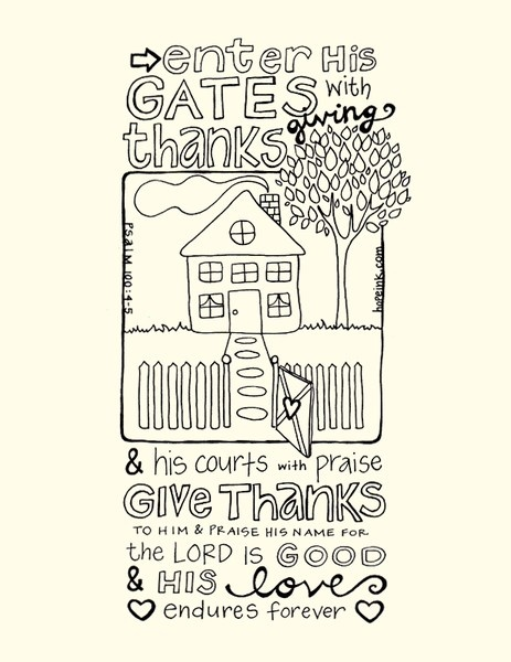 I Will Create Intros Animation Animate Logo Art Psalms Coloring Pages A Psalm Of Thanksgiving