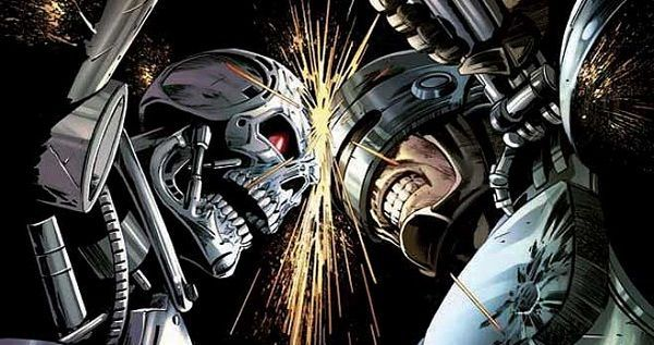 Terminator Vs Robocop Arnoldschwarzenegger Robo Mechas Peliculas