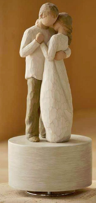 "willow tree""promise"" musical figurine"