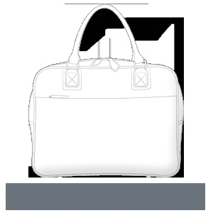sterling & hyde custom handbags - Working Girl Laptop Handbag    $329.00 http://sterlingandhydecustom.com
