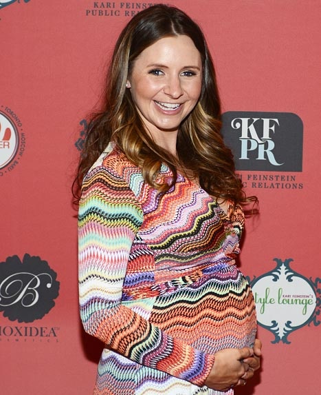 Beverley Mitchell gives birth to baby girl Kenzie Lynne