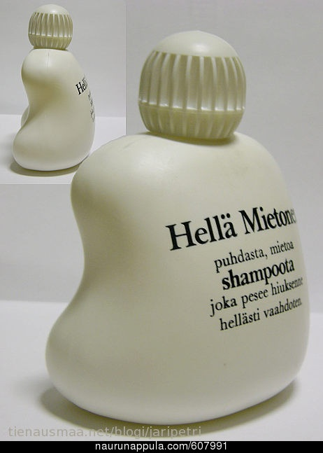 Anyone remember this shampoo? Love the bottle.