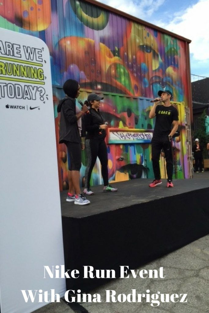 Nike+ Run Club Event with Gina Rodriguez & Carmelita Jeter - My Belle Elle