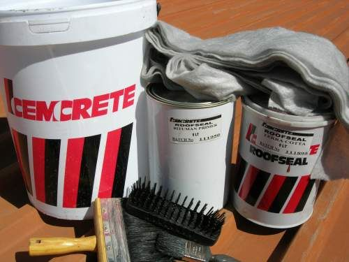 Don't let a leaking roof allow your home to become a disaster zone the next time it rains!  A leak is a sign that the floodgates are about to burst. You can keep the flood (and the hefty bills that come with severe damage control) at bay with a reliable roof sealer. Protect your roof with Cemcrete's Roofseal.