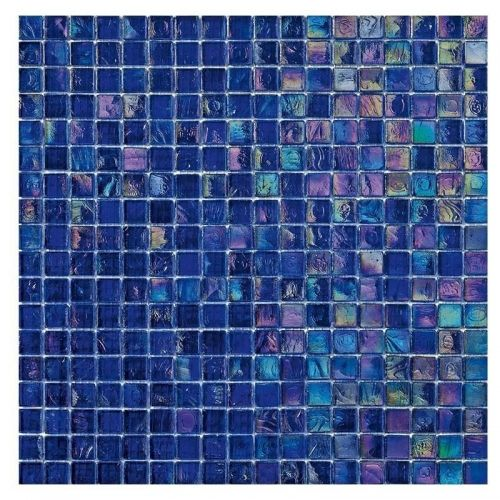 Iris 5 - Deep purples, pinks, limes and golds make this mosaic tile perfect for that special space.