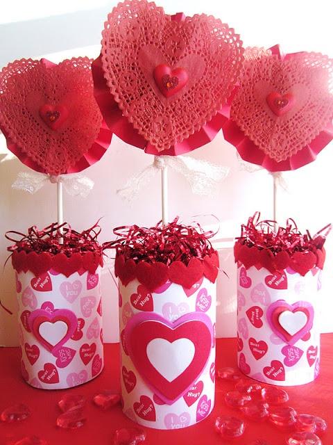44 fantastiche immagini su san valentino idee fai da te su - Decorazioni san valentino fai da te ...