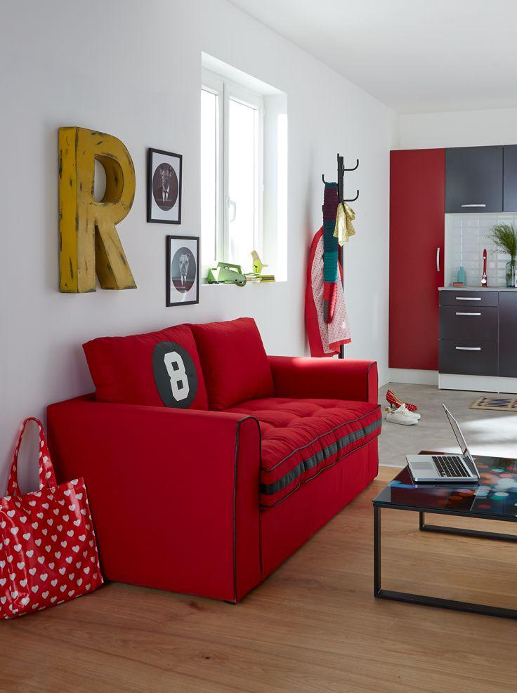 Salon CALYPSO - Alinéa - Jeu concours Pinterest - A gagner : Un canapé d'une valeur de 499€ ! Jouez sur : https://www.pinterest.com/alinea/les-salons-color%C3%A9s/
