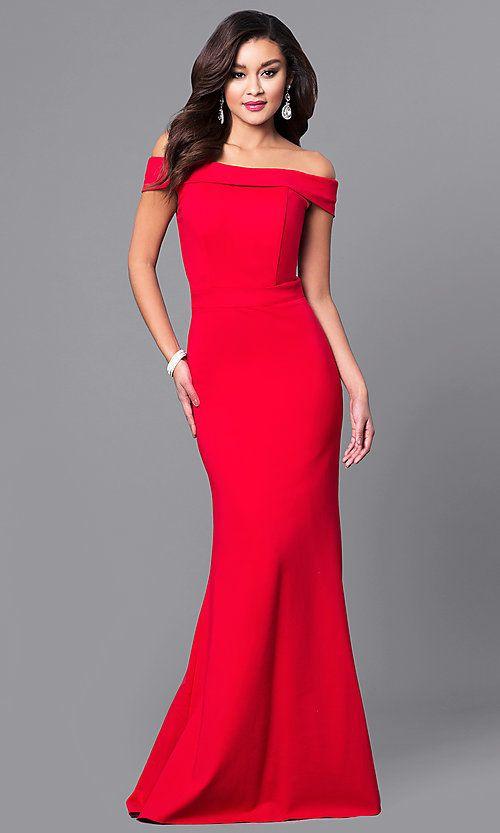 558bdd853 Long Off-the-Shoulder Sherri Hill Prom Dress | Wedding | Prom ...