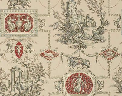 1000 images about toile de jouy on pinterest nantes french fabric and fabrics. Black Bedroom Furniture Sets. Home Design Ideas
