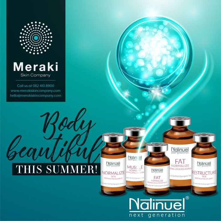 Natinuel next generation body products focus on treating cellulite, excess fatty tissue, microcirculation, epidermal texture and excessive dryness. For more information visit our website www.merakiskincompany.com or contact us at hello@merakiskincompany.com #MerakiSkinCompany #Natinuel #ProfCeccarelli