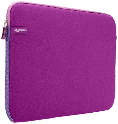 AmazonBasics Housse pour ordinateur portable, 15 – 15,6 Pouces, Violet