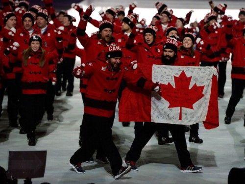 2014 Winter Olympics. Go Team Canada!