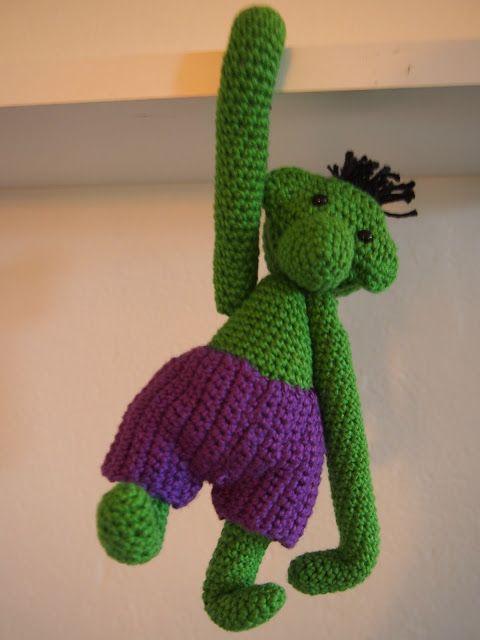 Kan du lave en Hulk???      Kors.... jeg har jo kun pigebørn, så jeg anede jo knap nok hvad det var. Men Google er min ven, så jeg fandt h...