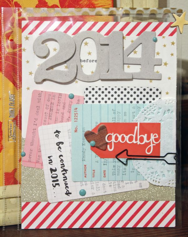 Monday Challenge: Goodbye 2014 by Mandy #octoberadternoon #decemberstory #oadecemberstory #2014 #yearinreview