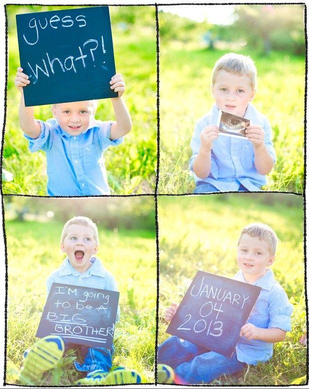 aankondiging zwanger broer