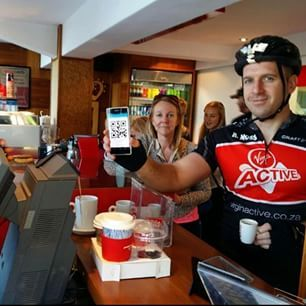 Vida e caffe_official Cycle along the Atlantic Seaboard where cyclist grab a free vida coffee thanks to thanks to flickpayapp
