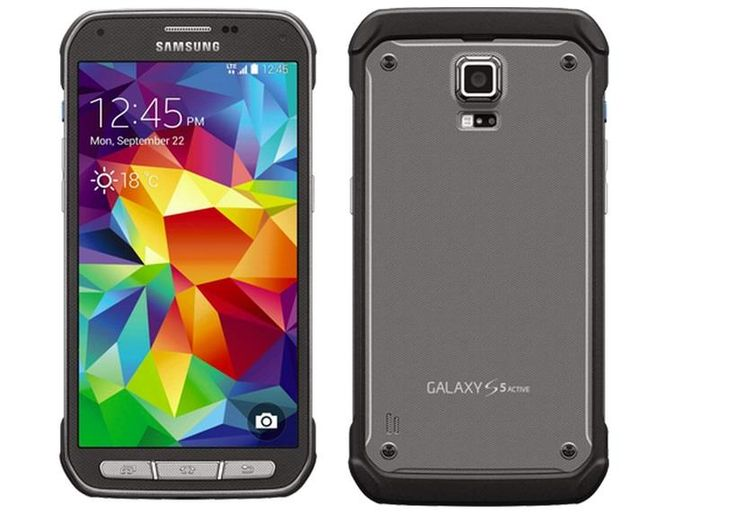Samsung Galaxy S5 Active G870F - Samsung Galaxy S5 Active, nielen spĺňa normu IP67 proti prachu a vode, ale splňuje aj americkú armádnu normu Mil-STD 810G, čo pomôže predovšetkým pri pádoch. Design je podriadený funkčnosti. Drsný štýl je podporený ešte krytom v stirebornom alebo maskáčovom prevedení. Ide teda o mobil pre zálesáka.Dostupný v striebornom a zelenom prevedení.