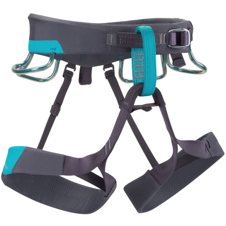 Black Diamond Ethos Harness - An all-new, women's-specific version of our standard-setting Chaos | at www.weighmyrack.com/ #rock #climbing #gear