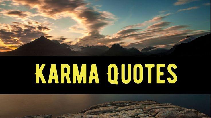 Top 15 Good Karma Quotes And Sayings