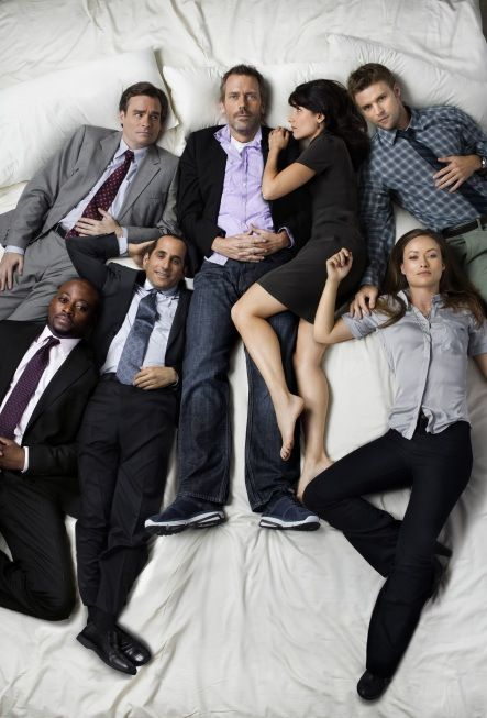 Going to miss this awesome cast! (House, Hugh Laurie, Jesse Spencer, Robert Sean Leonard, Olivia Wilde, Lisa Edelstein, Omar Epps, Peter Jacobson)