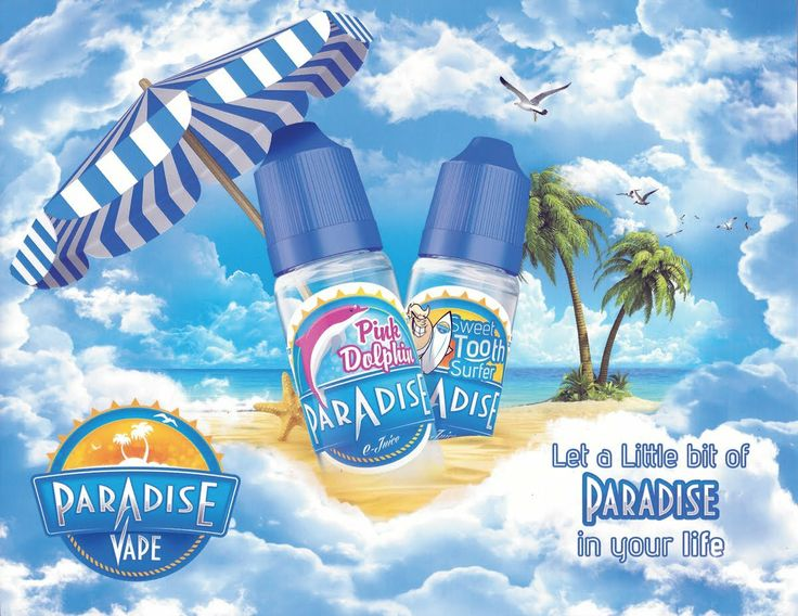 Paradise vape ejuice review by muffinclouds