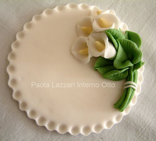 Pasta de azucar de Paola Lazzari.: Sugar Flower Cake, Sugar Paste, Cake Frosting Fillings, Cake Decorating
