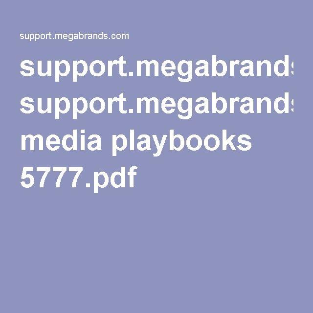 support.megabrands.com media playbooks 5777.pdf
