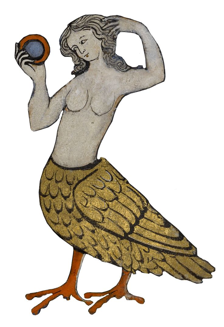 They may create a wonderful first impression but beware. Bird-woman mermaid, alluring siren at sea, sings so enchantingly there's no time to plea. You're entranced, you're drawn in. That voice! Those tail swishes! Next you're asleep and then: food for the fishes.