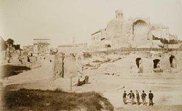In posa davanti alla meta Sudans  (1865-1870)