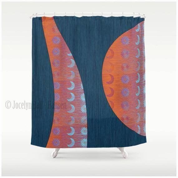 24 Sun And Moon Bathroom Decor In 2020 Bathroom Decor Luxury Abstract Shower Curtain Nature Design