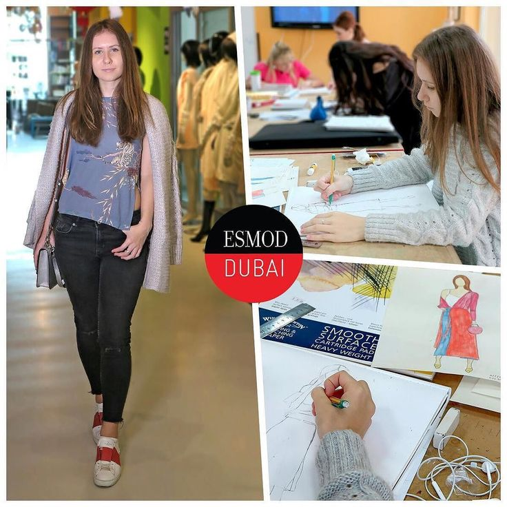 #ITLODay 2 of Esmod Dubai Fashion Design Workshop short course student Kristina A dressed in cool colours with a good mix of tones and textures. We love the Asian inspired printed top! Shes learning how to develop her own personal fashion illustration style and experimenting with different techniques in class. Like Kristina join one of our short courses in Fashion Design to get started. The next sessions start 10 & 12 April Visitesmod-dubai.com Call Carolina on 97144291228 to register…