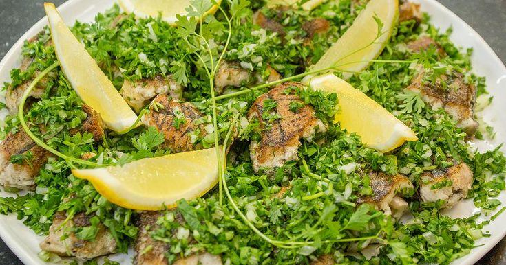 Het lievelingsgerecht van Bart Vanneste: gebakken paling in 't groen
