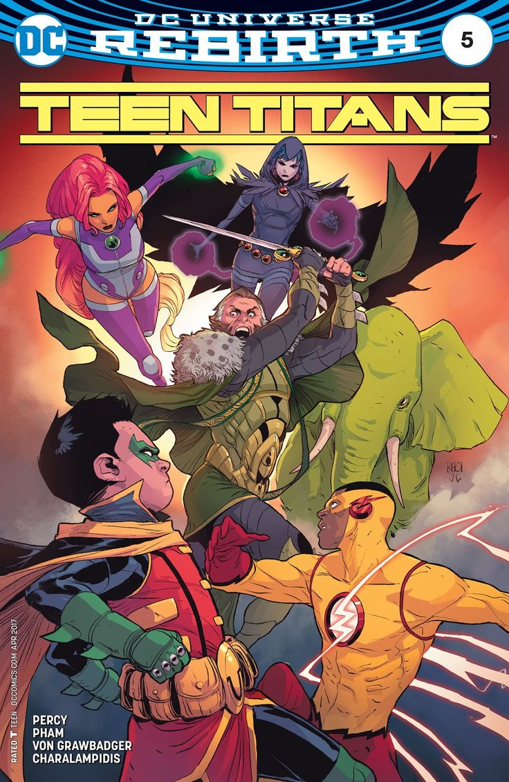 Teen Titans (2016) Issue #5 - Read Teen Titans (2016) Issue #5 comic online in high quality