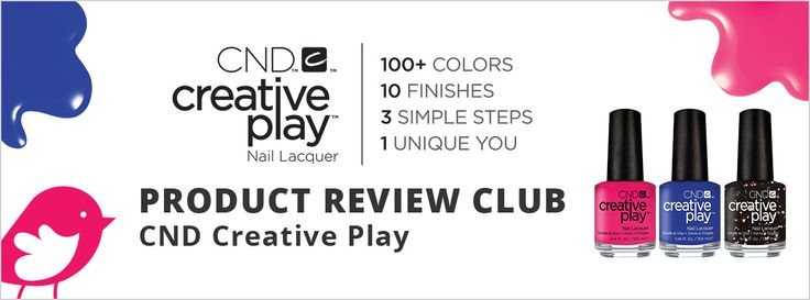 Look at these gorgeous colours #loveCNDCreativePlay that you can try with Chickadvisor!