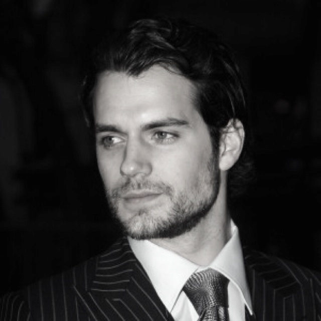 Henry Caville. Love him since he was in The Tudors, now he's going to be the new Superman.