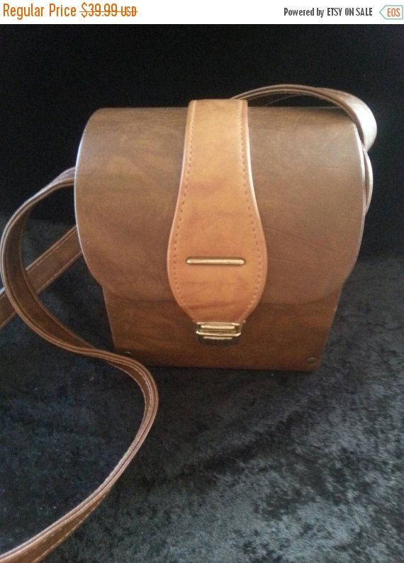 NOW ON SALE Vintage Cross Shoulder Bag / 60s by MartiniMermaid