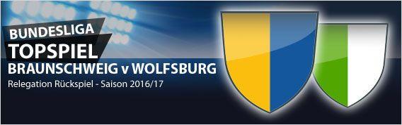 #Bundesliga Relegation 2016/17 - das Rückspiel zwischen Braunschweig und Wolfsburg steht an. Schafft Braunschweig die Sensation Aufstieg oder bleiben die Wölfe drin? Unsere Vorschau und Wettquoten unter:  http://www.meinonlinewettanbieter.com/bundesliga-wetten/bundesliga-relegation-201617-rueckspiel-vorschau-und-wettquoten/