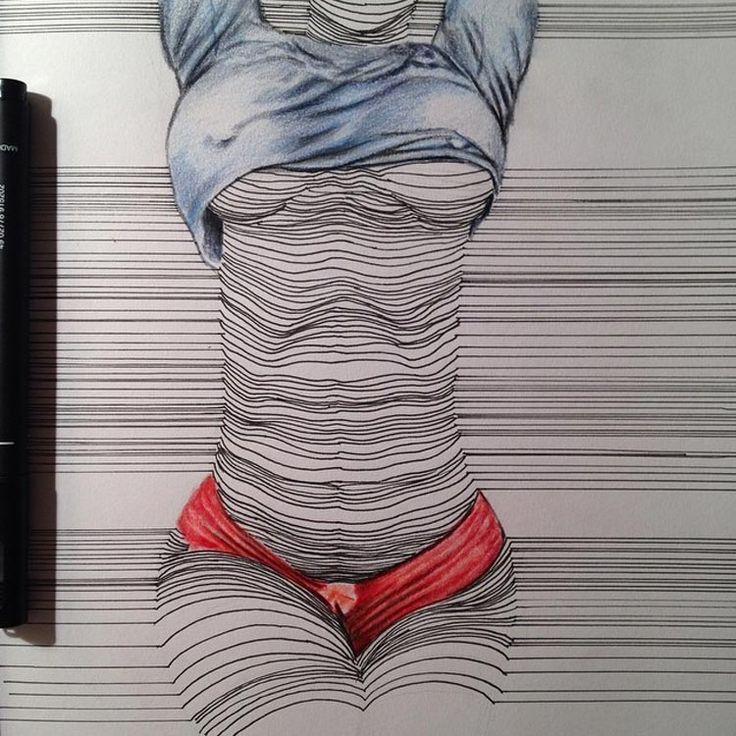 Nester Formentera, ses dessins en traits vont vous donner chaud