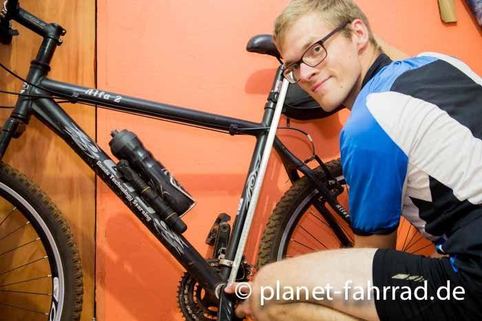 Wie Fahrradsattel einstellen? Aber bitte kein Pi mal Daumen