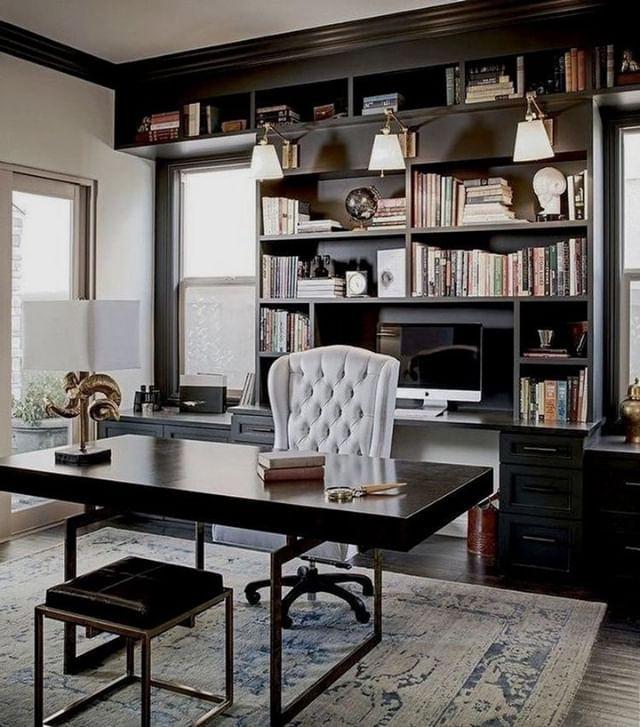 Documenting Inspiration Homeoffice Office Blackwalls Interiordesign Designinspiration Decorat Masculine Home Offices Modern Home Office Home Office Decor