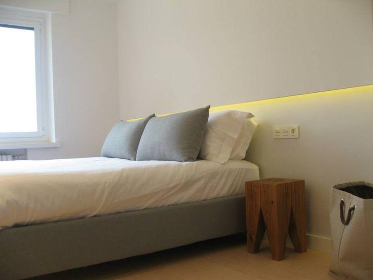 Luz indirecta en el dormitorio
