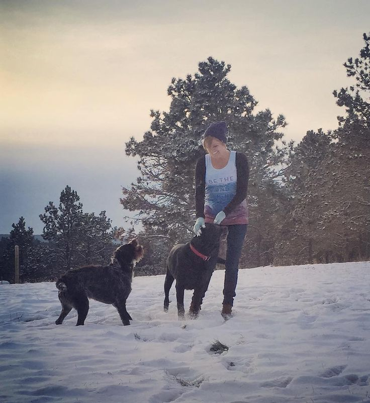 "laceyuhre on Instagram: ""Grateful I got to #returnHome to #SouthDakota for my second favorite season, #Winter!! Love playing with these pups...just wish I could take them back to LA with me to enjoy playtime at the beach :) @thennowalwaysco"""