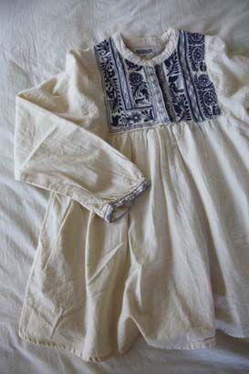 Pullover tunic embroidery | TRUCK | TRUCK-ZAKKA