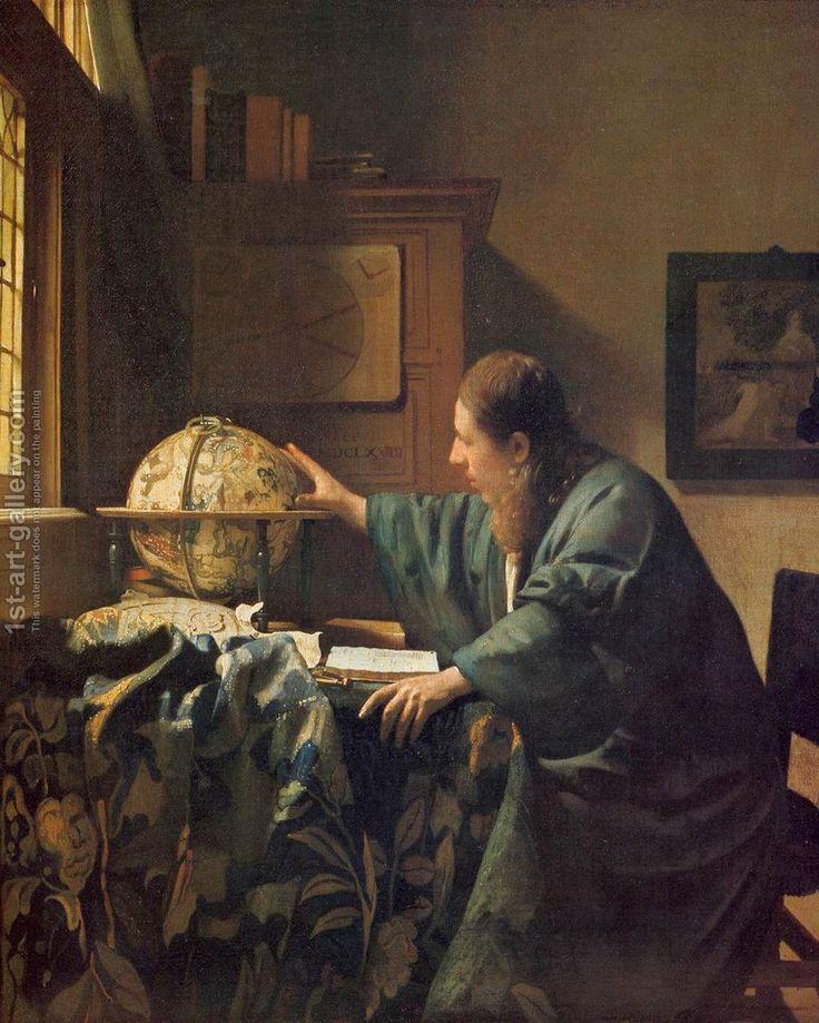 The Astronomer c. 1668 Jan Vermeer Van Delft Reproduction | 1st Art Gallery