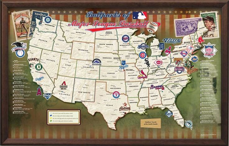 See a game at every MLB park