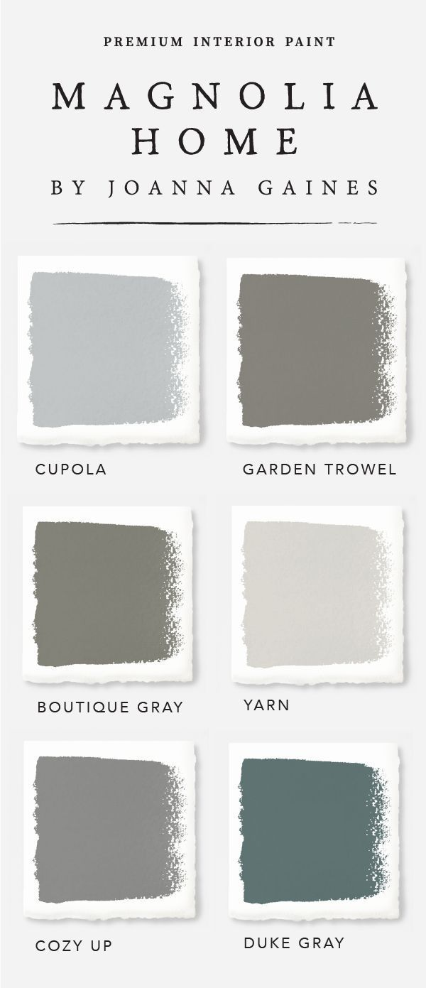 These Gorgeous Farmhouse Style Interior Paint Colors From Designer